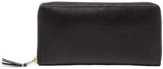 Comme des Garcons Classic Long Wallet in Black   FWRD