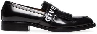 Givenchy Logo Fringe Leather Loafers