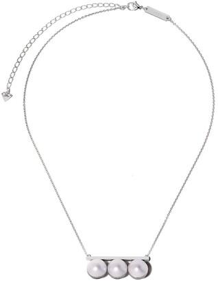 Tasaki 18kt white gold Balance Unite diamond and South Sea pearl pendant