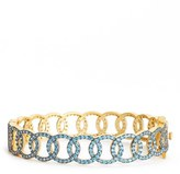 Freida Rothman Women's Baroque Blues Link Bangle