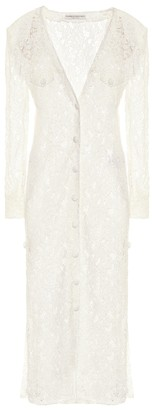 Alessandra Rich Guipure lace dress