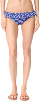 Kate Spade Double Ruffle Classic Bikini Bottoms