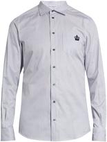 Dolce & Gabbana Striped button-cuff cotton shirt