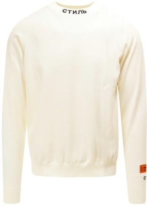 Heron Preston Pullover Sweater
