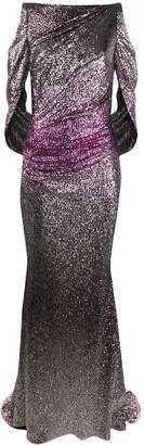 Talbot Runhof Sequin Gown