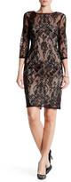 Adrianna Papell Chantilly Lace Sheath Dress (Missy & Petite)
