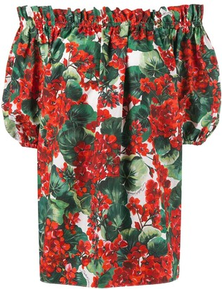 Dolce & Gabbana off the shoulder blouse