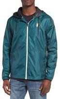 Hurley Men's 'Blocked' Ripstop Hooded Zip Jacket