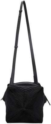 Issey Miyake Black Pleats Meteorite Bag