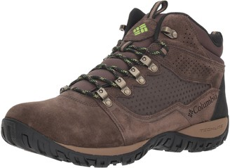 Columbia Men's Peakfreak Venture MID Suede Waterproof Hiking Boot