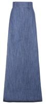Miu Miu High-waisted Denim Skirt