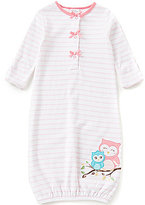 Starting Out Baby Girls Newborn-6 Months Owl Gown