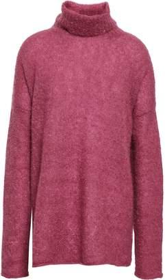 Simon Miller Mohair And Silk-blend Turtleneck Sweater