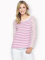 Splendid Sunfaded Stripe Long Sleeve Top