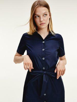 Tommy Hilfiger Self Tie Shirt Dress