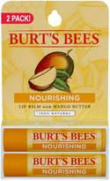 Burt's Bees 2 Pack. Mango Lip Balm