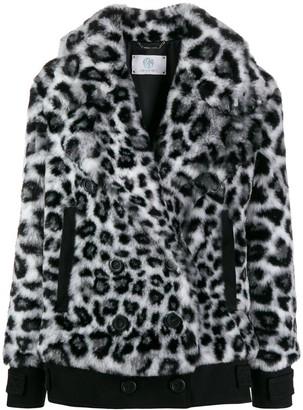 Alberta Ferretti Leopard Print Jacket