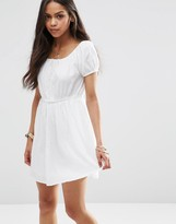 Brave Soul Crochet Woven Dress