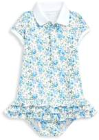 Ralph Lauren Baby Girl's 2-Piece Cupcake Dress & Bloomer Set