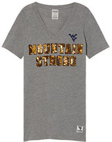 Victoria's Secret Victorias Secret West Virginia University Perfect V-Neck Tee