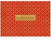 Caspari Diamond Brocade Thank You Cards, Box of 8
