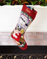 Sferra Baby Girl Needlepoint Stocking