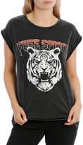 Miss Shop Free Spirit Tiger Boyfriend Tee