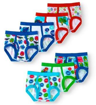 PJ Masks Toddler Boys Brief Underwear, 7-Pack