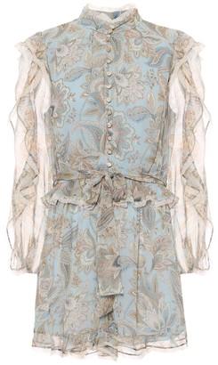 Zimmermann Ladybeetle paisley silk playsuit