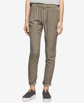 Calvin Klein Jeans Drawstring-Waist Jogger Pants