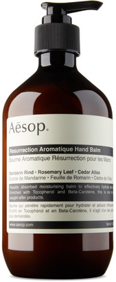 Aesop Resurrection Aromatique Hand Balm, 500 mL