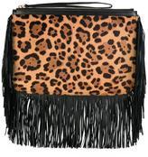 Pierre Hardy leopard print clutch