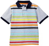 Andy & Evan Multi Striped Polo (Toddler & Little Boys)