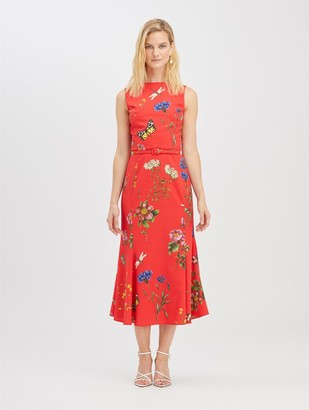 Oscar de la Renta Botanical Garden Dress