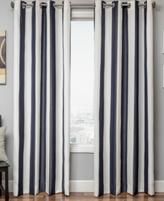 "CLOSEOUT! Softline Sunbrella Outdoor Stripe 52"" x 108"" Panel"