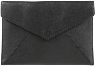 Delvaux Black Leather Clutch bags