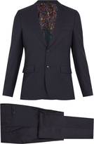 Paul Smith Single-breasted birdseye-wool suit