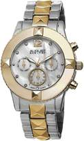 August Steiner Women's AS8107TTG Analog Display Swiss Quartz Two Tone Watch