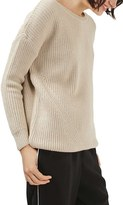 Topshop Women's Ring Back Sweater