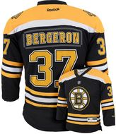 Reebok Boys 8-20 Boston Bruins Patrice Bergeron NHL Replica Jersey