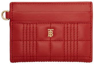 Burberry Red Sandon Card Holder