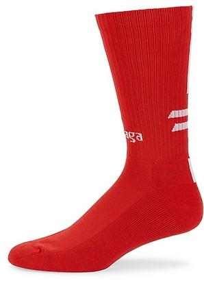 Balenciaga Logo Soccer Socks