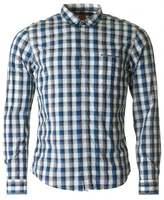 BOSS ORANGE Eclash Long Sleeved Checked Shirt