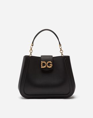 Dolce & Gabbana Small Calfskin Amore Bag