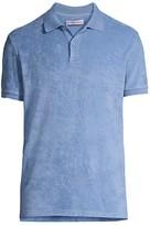 Orlebar Brown Jarret Towelling Polo Shirt