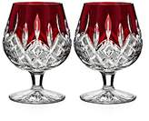 Waterford Lismore Red Brandy Glass, Set of 2