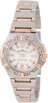 Anne Klein Women's 10-9725MPRT Silver Brass Quartz Watch with Dial