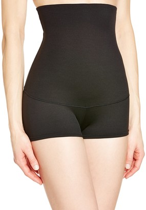Maidenform Women's Flexees Shapewear Minimizing Hi-Waist Boyshort