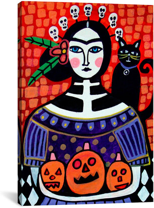 iCanvas Day Of The Dead Iv By Heather Galler