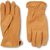 Hestra - Ymer Fleece-lined Nubuck Gloves - Saffron